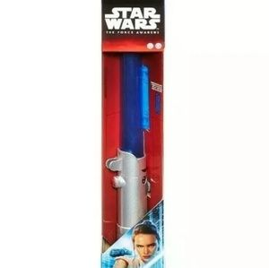 Star Wars The Force Awakens Rey Lightsaber